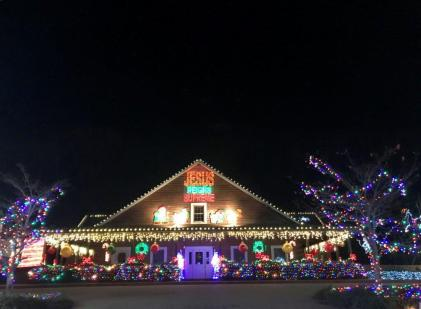 The Clay-Chalkville Animal Clinic knows how to get its Christmas on! (Donna Cope)