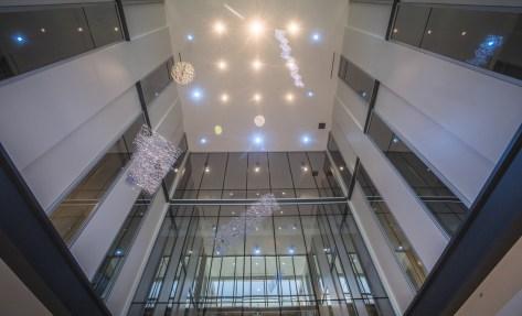 The interior of the Collat building. (Adam Pope/UAB)