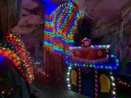 Experience the magic of the season, at Rickwood Caverns State Park, by viewing over 30,000 colored lights and holiday ornaments. (Contributed)