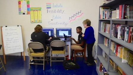Students at the Presbyterian Home for Children Ascension Academy learn at the accredited school through academics, and through love and hope. The PHFC provides a place for them to learn and play. (Karim Shamsi-Basha/Alabama NewsCenter)