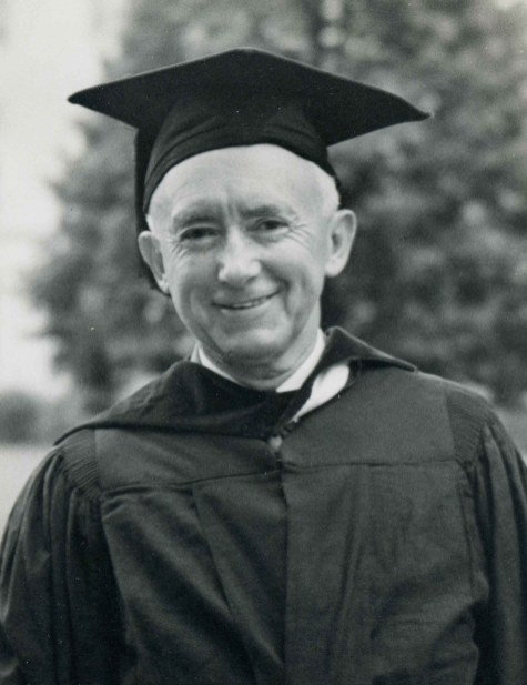 Thomas W. Martin receiving an honorary degree from the University of Alabama, 1943. (Alabama Power Company Archives)