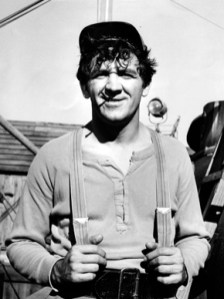 """George Lindsey (1928-2012), who played Goober Pyle on """"The Andy Griffith Show,"""" was born in Fairfield, Alabama. He graduated from Florence State College (now the University of North Alabama) and taught high school in Madison County before moving to New York to pursue a theater career. (From Encyclopedia of Alabama, photo courtesy of The Birmingham News)"""