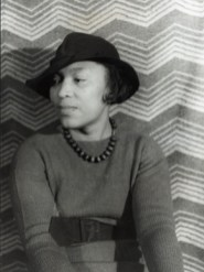 In 1938, American photographer, critic and essayist Carl Van Vechten photographed Zora Neale Hurston in New York. Van Vechten also photographed Alabama native and novelist Truman Capote and many other notable figures in music, literature and art. (From Encyclopedia of Alabama, Library of Congress)