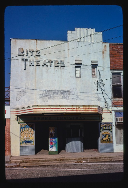 Ritz Theater, Centreville, 1979. (Photograph by John Margolies, Library of Congress, Prints and Photographs Division)