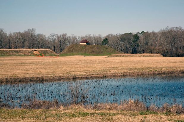 Moundville Archaeological Park, Moundville, 2010. (The George F. Landegger Collection of Alabama Photographs in Carol M. Highsmith's America, Library of Congress, Prints and Photographs Division)