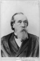 Lucius Quintus Cincinnatus Lamar, c. 1890. (Library of Congress, Prints and Photographs Division)