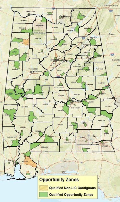 Alabama Opportunity Zones (ADECA)