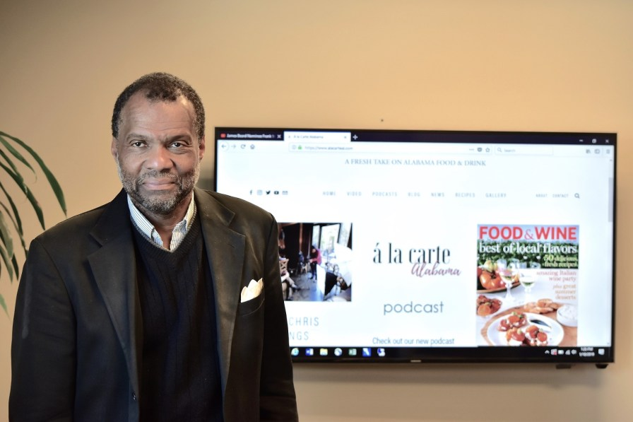 Willie Chriesman has helped create a fresh look at the many aspects of food in Alabama, from its front-rank restaurants to historical subjects such as Jim Crow-era dining. (Karim Shamsi-Basha/Alabama NewsCenter)