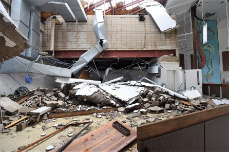 A March 2018 tornado did significant damage at Jacksonville State University. (file)