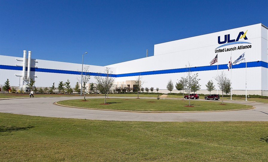 The United Launch Alliance factory in Decatur produces Atlas V and Delta IV rockets used to lift critical national security satellites and other payloads into orbit. (ULA)