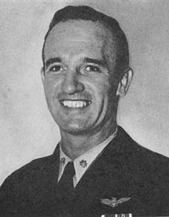 Portrait of Medal of Honor recipient David McCampbell. (From Medal of Honor, 1861-1949, The Navy, page 223; Naval History and Heritage Command)