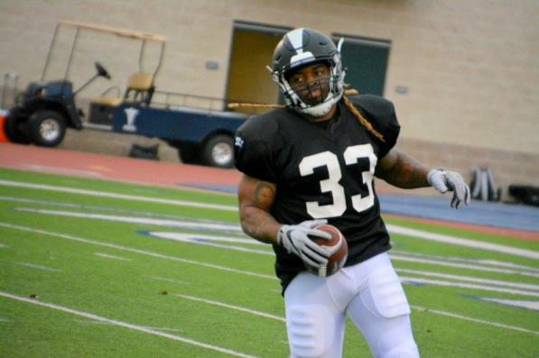 Birmingham Iron running back Trent Richardson at training camp. (contributed)