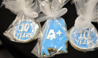 A+ College Ready, a collaboration between the Alabama State Department of Education and the A+ Education Partnership, celebrated its 10th anniversary in 2018.