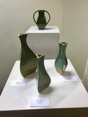 "Stoneware pieces by David Joseph Self, aka Deep Fried Sugar, are part of the ""Magic City Shines"" exhibit. (Dan Bynum/Alabama NewsCenter)"