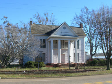 The Ogden House, built in 1888, was one of the first homes in Sulligent, Lamar County. The house is named for William and Tallulah Henson Ogden. William Ogden was mayor of Sulligent from 1919-1921 and state representative from 1931-1934. (From Encyclopedia of Alabama, courtesy of Jimmy Emerson)