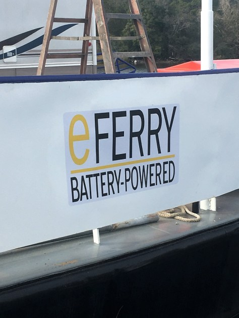 Wilcox County's well-known Gee's Bend ferry should resume operations by the end of February, powered by electricity. (contributed)