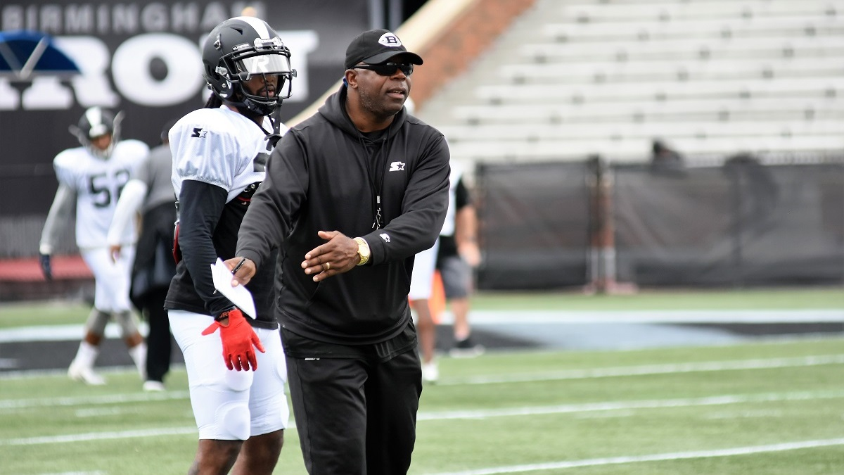 Birmingham Iron coach Tim Lewis embarks on a new chapter of his career