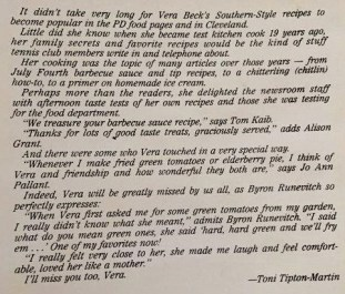 """Toni Tipton-Martin, former Cleveland Plain Dealer food editor and author of the """"Jemima Code,"""" wrote this in the """"Vera Beck Cookbook."""" (Bob Blalock / Alabama NewsCenter)"""