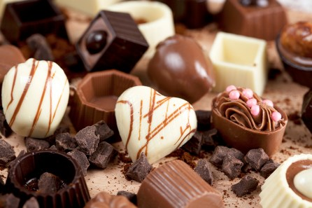 Chocolate is all around Valentine's Day weekend. (Getty Images)