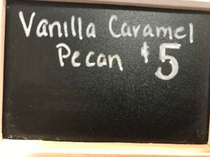 anilla caramel pecan is one of the offerings. (Keisa Sharpe)