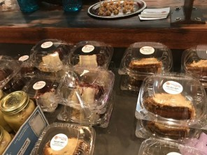 Cake slices ready to be sold to customers. (Keisa Sharpe)