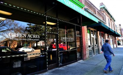 Green Acres is a popular restaurant in the 4th Avenue District. (Mark Almond)