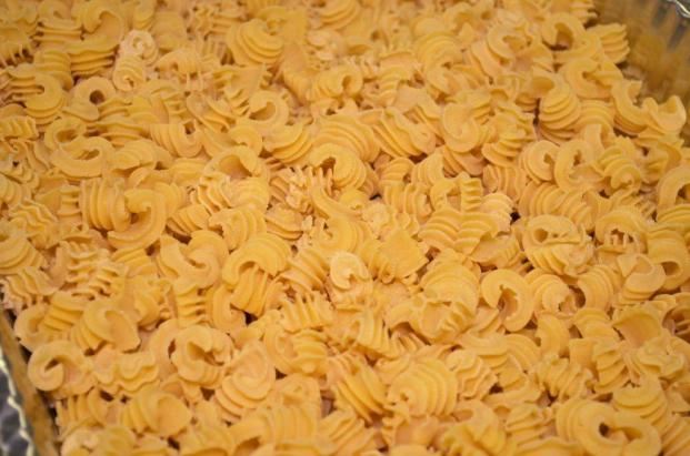 Bare Naked Noodles produces a number of extruded, stuffed and rolled pastas. (Michael Tomberlin / Alabama NewsCenter)