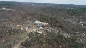 Homes were in the tornadoes' path of destruction. (Steve Dunlap)