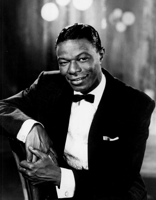 """Montgomery native Nathaniel Adams Coles (1919-1965), known to the world as Nat """"King"""" Cole, was a legendary jazz and pop musician. He was the first African American to host his own television show and appeared in a number of films. (From Encyclopedia of Alabama, Alabama Music Hall of Fame)"""