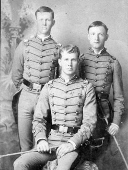 Cadet captains, 1887. During the 19th century, many colleges and universities required students to participate in military training. (From Encyclopedia of Alabama, courtesy of Auburn University Libraries)