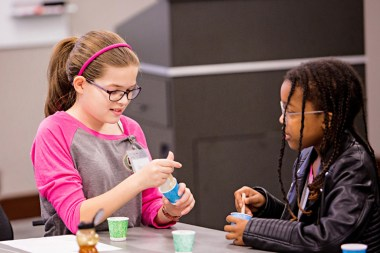 The iCan Girls in Engineering Conference presents the many facets of engineering to sixth- through eighth-grade girls. (Breanna Fogg)