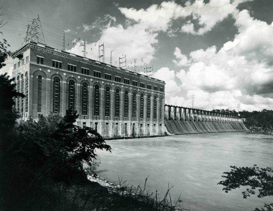Lay Dam. (Alabama Power Company Archives)