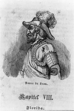 Portrait of Juan Ponce de León. (Library of Congress Prints and Photographs Division)