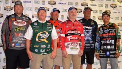 Anglers in the Bassmaster Elite series will be vying for one of 53 spots in next year's Bassmaster Classic. (Michael Tomberlin / Alabama NewsCenter)
