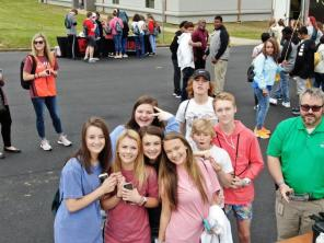 Central AlabamaWorks Career Discovery exposed teens to career opportunities like drone piloting with Alabama Power. (Jason McDade / Alabama NewsCenter)