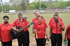 Sounds of Joy Choir brings happiness when it performs. (Karim Shamsi-Basha / Alabama NewsCenter)