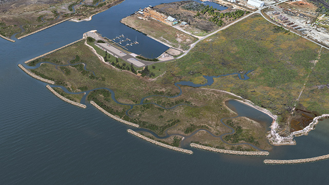 Conservation groups restoring, protecting Bayou La Batre's Lightning Point