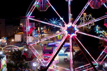 Enjoy live entertainment on multiple stages, a car show, carnival, pooch parade, arts and crafts, a cookie eating contest, 170 vendor booths, a petting zoo farm bus, pony rides and free art classes for kids. (Contributed)