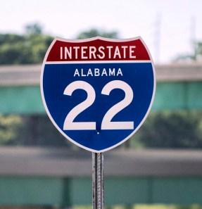 Interstate 22 now connects Birmingham to suburban Memphis. (Christopher Jones/Alabama NewsCenter)