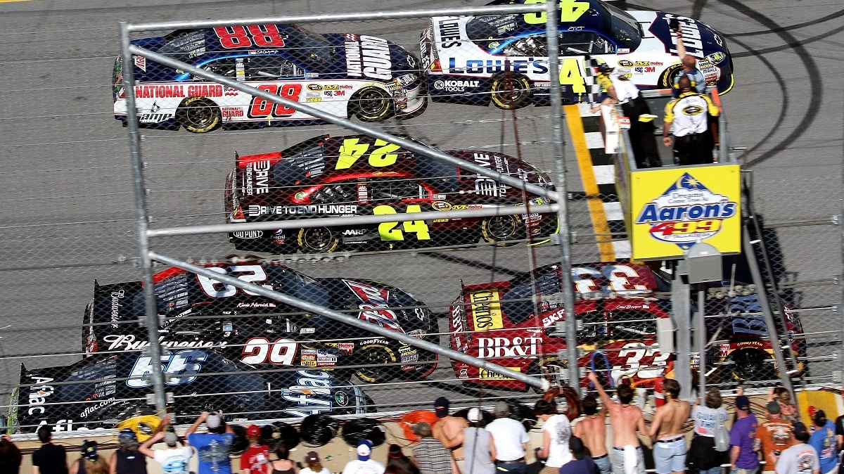Close finishes mark Talladega Superspeedway's spring races since 2010