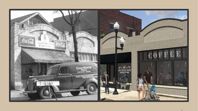 Coffee shop could be link to Alabama town's past and its future