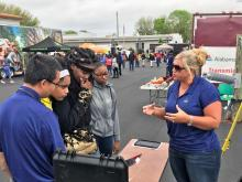 Central AlabamaWorks Career Discovery exposed teens to career opportunities like drone piloting with Alabama Power. (Michael Jordan / Alabama NewsCenter)