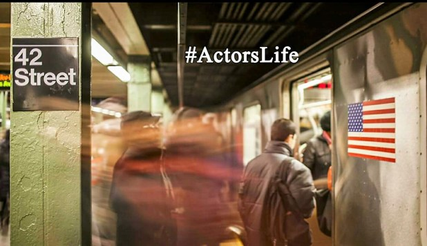 #ActorsLife is a public access television show hosted by Shumerria Harris, who interviews actors about their lives and craft. (Courtesy of Shumerria Harris)