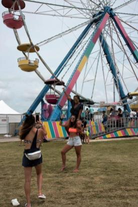 Hangout Fest brought attendees from all 50 states and from 33 countries. (Brittany Faush / Alabama NewsCenter)