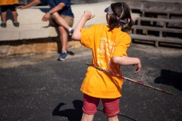 Fishing was the main event, but Exceptional Anglers offered kids plenty of other activities, too. (Phil Free/Alabama NewsCenter)