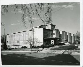 Thomas Martin Building at Southern Research. (Alabama Power Archives)