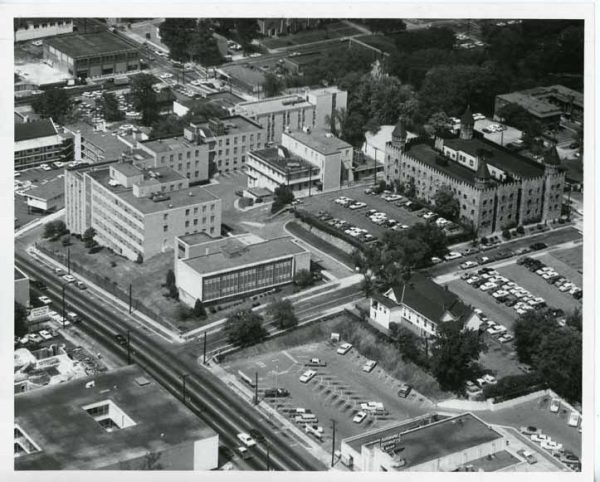 Aerial view of Southern Research. (Alabama Power Archives)