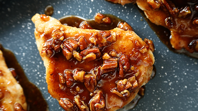 Recipe: Honey Garlic Pecan Chicken
