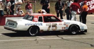 The RahMoc Enterprises-owned No. 75 Chevy of Neil Bonnett at the 1983 Van Scoy 500, 2007. (us44mt, Wikipedia)