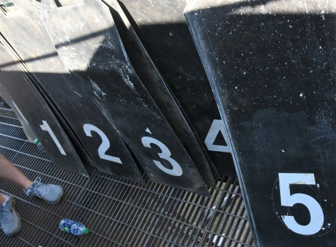 Numbers available for a big inning. (Solomon Crenshaw Jr./Alabama NewsCenter)